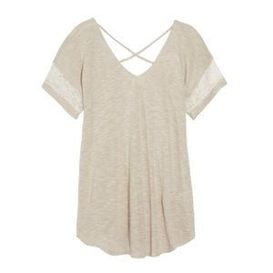 EUC Papermoon Crossback knit top, size S